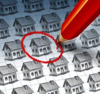 selezionare casa