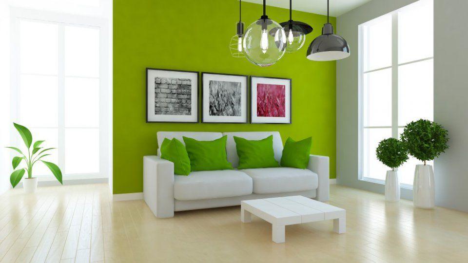 Greenery arreda casa con il colore pantone 2017 espliko - Camera da letto verde mela ...